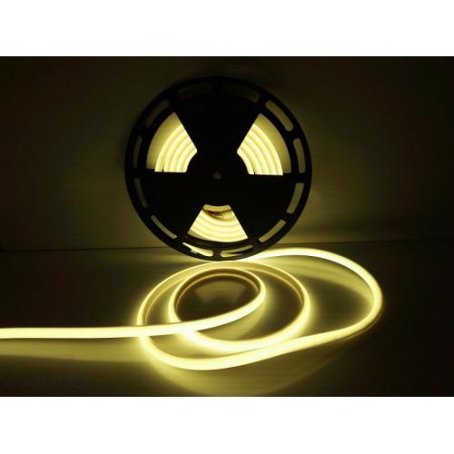 Термостойкая влагозащищенная IP68 лента желтая