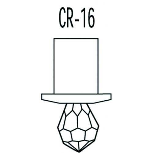 Набор хрустальных насадок CR-16 Kit Swarovski Strass схема