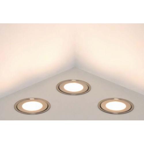 Встраиваемый светодиодный светильник Тип 1 круглый 6 шт в интерьере