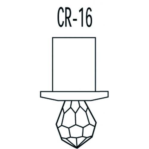 Набор CR-16 Kit хрустальных насадок Swarovski Strass чертеж
