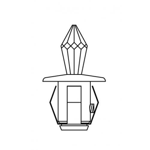 Набор Crystal Kit хрустальных насадок Swarovski Strass чертёж