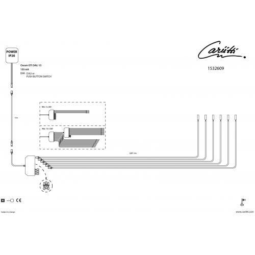 Набор 3 шт Паровая Баня Led 3000 K для светильников схема