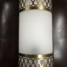 Турецкий светильник WO-12S латунь